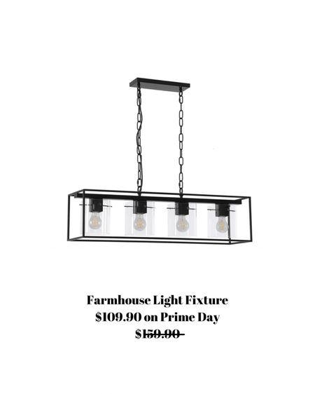 Farmhouse light fixture on sale today! $109.90 - normally $159.90.    #liketkit http://liketk.it/3i71H @liketoknow.it #LTKhome #LTKsalealert #LTKunder100