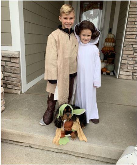 Star Wars costume for kids for Halloween  #justpostedblog   Amazon Kids costume  Star Wars   #LTKkids #LTKunder50 #LTKSeasonal
