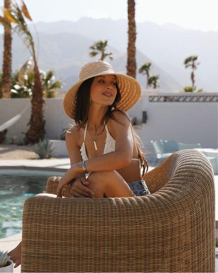 Weekend ready on my favorite summer hat! Visors please!! @liketoknow.it #liketkit http://liketk.it/3hWux #LTKswim #LTKunder100 #LTKtravel