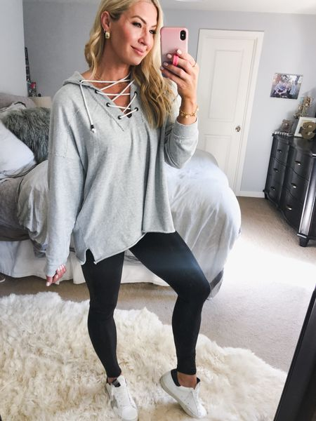 This! Long enough to wear with leggings but so cute with anything! I sized down to a small but could have totally done my true size.   #LTKtravel #LTKunder50 #LTKstyletip
