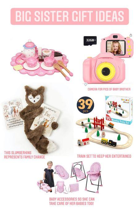 Sibling gift ideas   #kidsgifts #toddlertoy #toddlergift #newbaby #camera   #LTKSeasonal #LTKkids