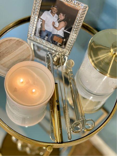 Found the cutest gold candle lighter & accessories set on Amazon!   #LTKsalealert #LTKunder50 #LTKhome
