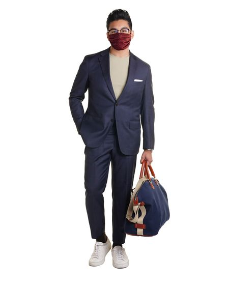 Here's work I did for Peter Manning NYC, pre-COVID. It felt disingenuous to post as is, so photoshopped one of my face masks on. If I'm going to be giving you any style advice, I want it to be relevant to today's world. Think of it as a new kind of pocket square or scarf to accessorize with your outfit. http://liketk.it/2Ru7s #liketkit @liketoknow.it #LTKmens #menswear