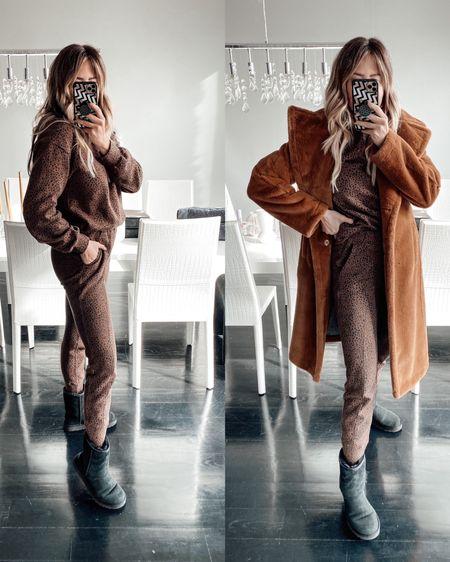 Take your elevated loungewear to the next level by adding a faux fur or wool coat. http://liketk.it/36z0f #liketkit @liketoknow.it #LTKunder50 #LTKSeasonal #LTKstyletip