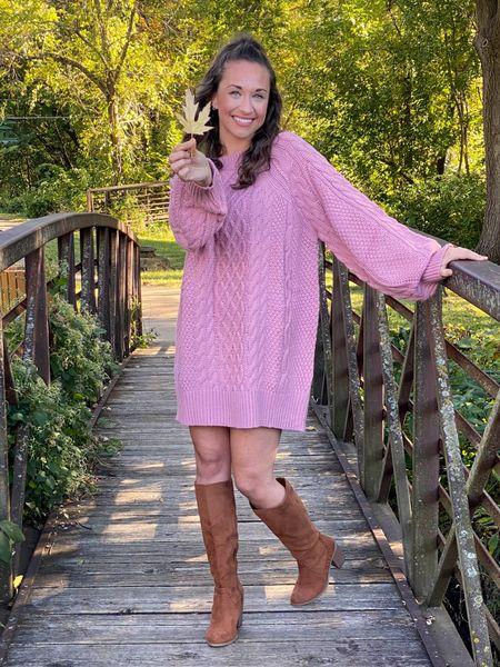 Amazon sweater dress, Amazon fashion finds #sweaterdress   #LTKunder50 #LTKsalealert #LTKstyletip