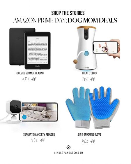Amazon Prime Day Dog Mom Deals. AmazonFinds Deals for Pet Parents. Furbo Treat Dispenser. Mini Home Security Camera. 2 in 1 Pet Grooming and Furniture DeShedding Glove. Waterproof Kindle Reader.   Shop this pic below. Follow @lindseyandcoco on @liketoknow.it for more deals and sales. So glad you are here! 💕   http://liketk.it/3i4BY #liketkit #LTKsalealert #LTKhome @liketoknow.it.home