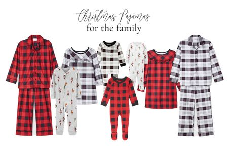 Christmas jammies for the whole family are on sale today! I bought the white plaid (have to keep things neutral 🙃) for my kiddos, for their annual Christmas Eve boxes which includes Christmas pajamas, yummy snacks, and a new movie to enjoy together before bed!  #LTKfamily #LTKgiftspo #StayHomeWithLTK