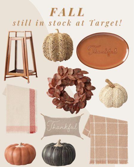 Fall decor STILL IN STOCK at Target!   #LTKSeasonal #LTKHoliday #LTKhome