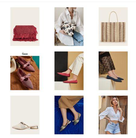 Footwear  Shein bags   #LTKshoecrush #LTKstyletip #LTKunder50