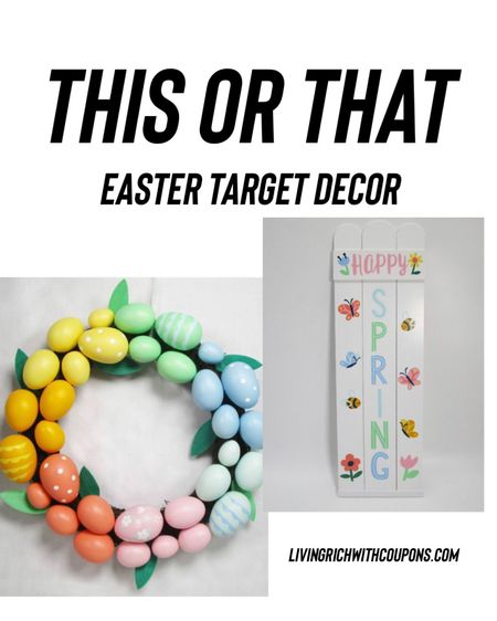 http://liketk.it/39uEf #liketkit @liketoknow.it this or that! Easter target decor!