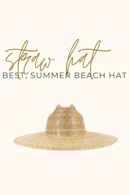 My favorite summer hat 👏🏼👏🏼 I got the L/XL  #lackofcolor #beachstyle #strawhat #hatstyle #lackofcolor #summerstyle #summerfashion   #LTKstyletip #LTKtravel