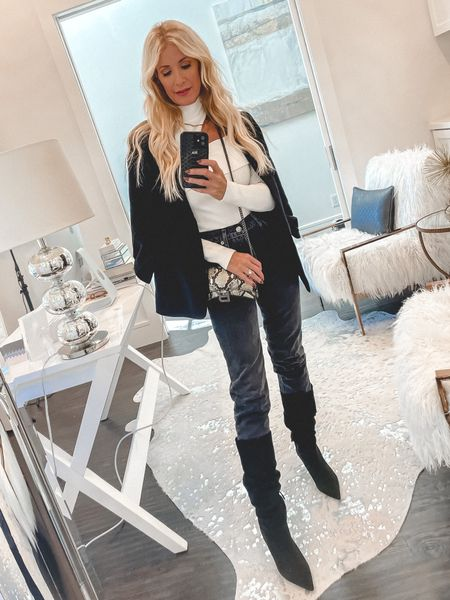 Obsessed with these Budget-friendly knee-high boots for fall and winter 🖤  #LTKunder100 #LTKshoecrush #LTKstyletip