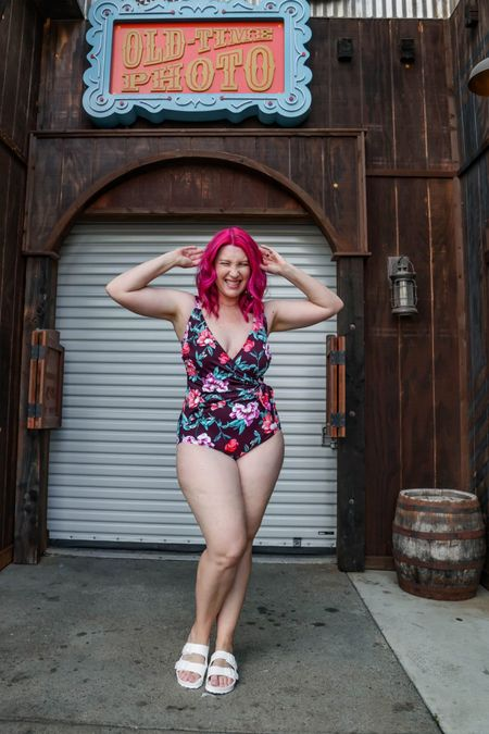 Let's talk bargain swimwear! These suits are all from Walmart and killer prices!!!   #LTKunder50 #LTKSeasonal #LTKswim