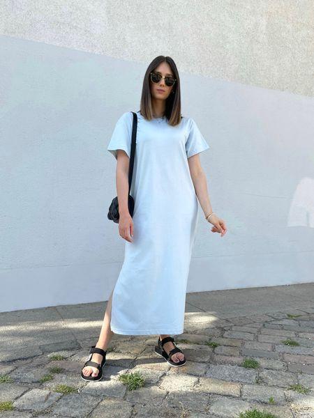 Casual Summer Look T-Shirt Dress   #LTKeurope #LTKstyletip #LTKSeasonal