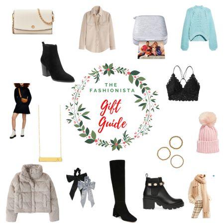 The Fashionista Gift Guide http://liketk.it/31o1O #liketkit @liketoknow.it #LTKgiftspo #LTKstyletip #LTKshoecrush