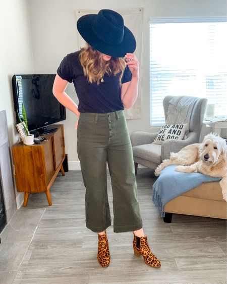 Outfit #3 in today's style session: wide leg crop pants.   Details 👉🏻 http://liketk.it/2CiQk #liketkit @liketoknow.it