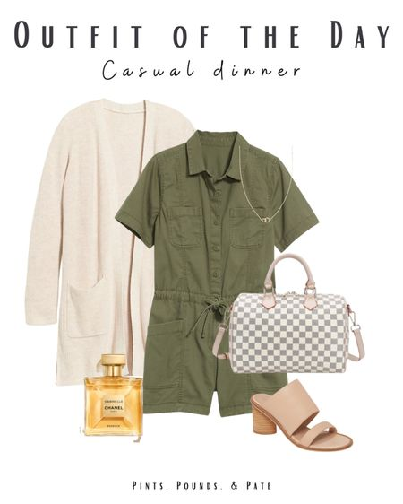 Cute going out for dinner outfit for a casual, but polished, Sunday! #ootd #sunday #goingout #dinneroutfit  #LTKstyletip