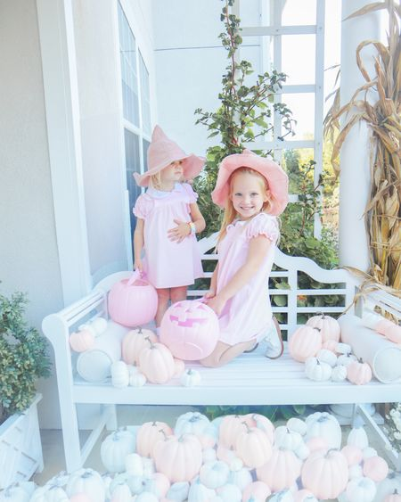 Pink & pastel Halloween for these little witches!   #LTKkids #LTKHoliday #LTKbaby