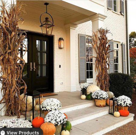 Your fall porch styling inspo.   #LTKHoliday #LTKhome #LTKfamily