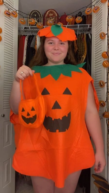 I had to buy it it was only $12🎃 this pumpkin costume is great for every Halloween!   #LTKfamily #LTKSeasonal #LTKHoliday