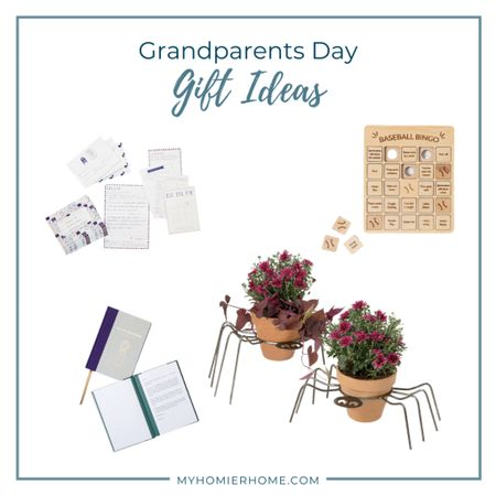 Grandparents Day is coming up on Sept 12th! Here are some unique gift ideas!   #LTKfamily #LTKSeasonal #LTKunder100
