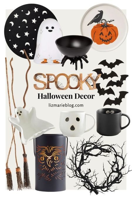 Not-So-Spooky Halloween decor for the upcoming holiday that you can incorporate within your everyday cozy decor!  #LTKHoliday #LTKSeasonal #LTKunder50