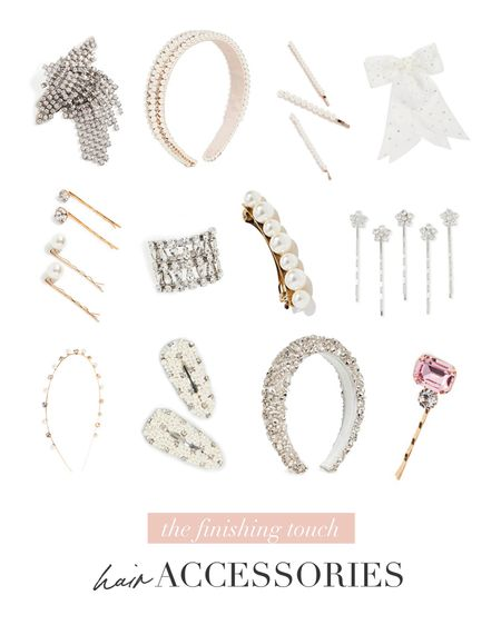Add the finishing touch to your bridal look with these accessories. 🤍  #LTKwedding #LTKstyletip