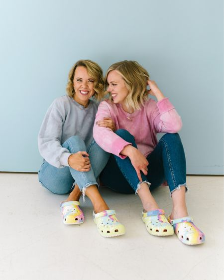 If you've been following us for the past year then you know that we became borderline unwell after putting on our first pair of @crocs. Like, HOW did we live without them for so long?! So, you can imagine how we felt when we came across these pastel tie-dye beauties from @DSW. You, guys!!! PASTEL. TIE DYE. CROCS. It's alllll our favorite things! So, if you've been considering joining our @Crocs girl gang (and ya should) this HAS to be you entry pair. So obsessed, @DSW! #MyDSW#ad #crocs http://liketk.it/3dT1U #liketkit @liketoknow.it