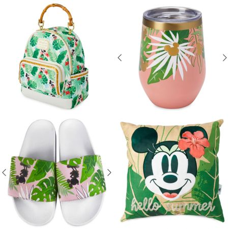 The weather is heating up and I am so ready to go on a tropical vacation 🌴 shopDisney has released some of the best spring/summer products to make me feel like I'm on my own little getaway at home 🐠 #shopdisney #disney #disneystyle #tropics #tropical #palmtrees #LTKitbag #LTKSpringSale #LTKunder50 #liketkit @liketoknow.it http://liketk.it/3ctMZ