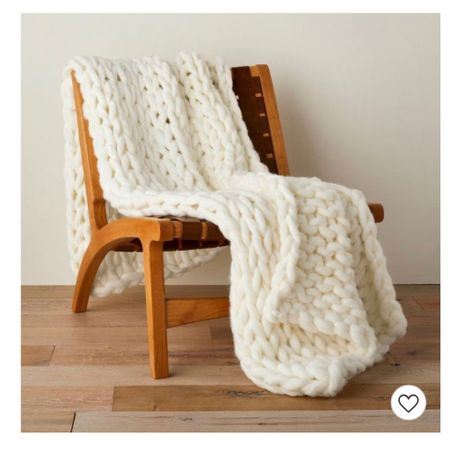 Target just duped the forever adored chunky hand knit blanket for half the price! You're welcome! 💕 #LTKunder100 #StayHomeWithLTK #LTKhome http://liketk.it/2XVWU #liketkit @liketoknow.it