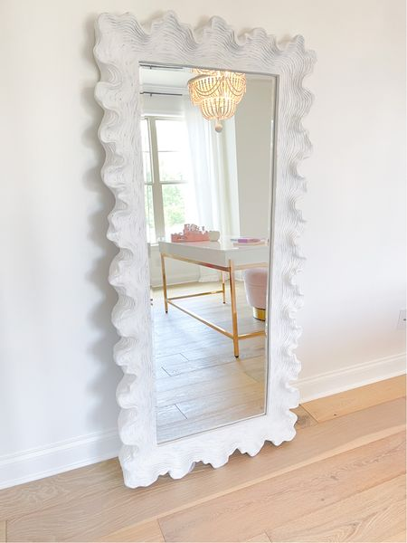 Favorite mirror right now and it's on sale and available in 2 sizes.   #LTKhome #LTKsalealert #LTKstyletip