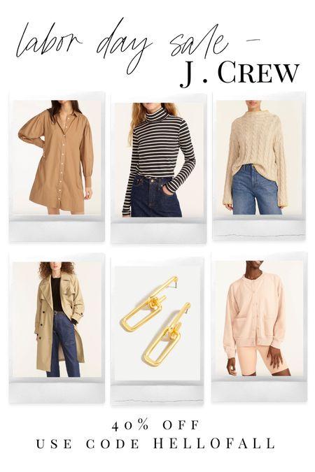 Labor Day sales! J. Crew + fall fashion + fashion blogger + fall inspo   #LTKsalealert #LTKhome #LTKSeasonal