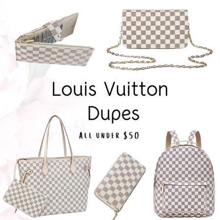 How crazy are these #louisvuittondupes 😍☝🏼 I cant believe how realistic they are and all under $50!!!!! 💰 Y'all this is insane! Tag a friend to see these dupes!!  ✅Click the link in my bio to shop these amazing deals✅   Shop my daily looks by following me on the LIKEtoKNOW.it shopping app 😀😉 http://liketk.it/2Ksf3 #liketkit @liketoknow.it @liketoknow.it.home #LTKsalealert #LTKunder50 #LTKitbag
