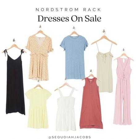Nordstrom Rack dresses on sale Summer dresses, sale finds, Nordstrom Rack finds, casual.  #LTKstyletip #LTKunder50 #LTKsalealert