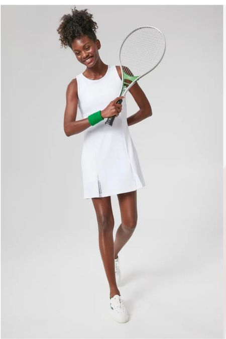 So many fabulous pieces in the Tuckernuck Spot collection! Had to order the white tennis dress! @liketoknow.it #liketkit http://liketk.it/3gI28 #LTKfit #LTKunder100