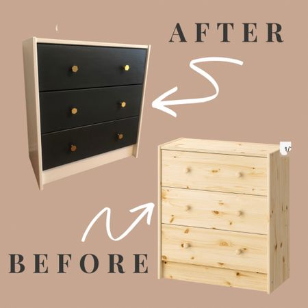 Linking the products I used to turn the $40 Rast IKEA dresser and an old nightstand from drab to fab. #liketkit @liketoknow.it http://liketk.it/3apH8