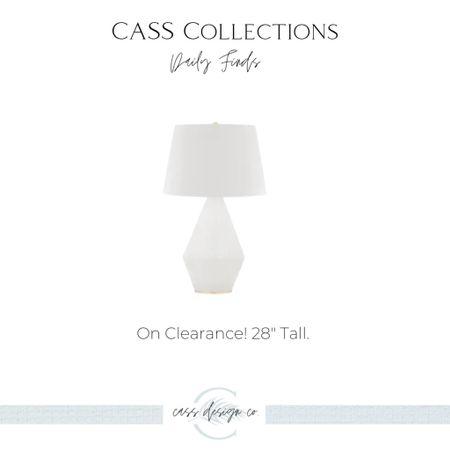 Table lamp White lamp Designer lamp