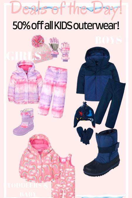 🚨50% off all kids outerwear! You don't want to miss these deals 🚨   #LTKsalealert #LTKSeasonal #LTKkids