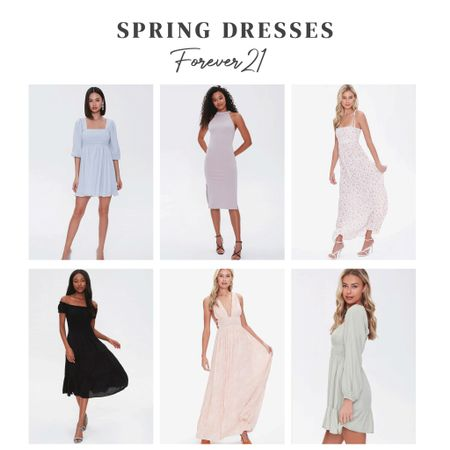 "Spring dresses from Forever21. Perfect for a spring or summer engagement session 👏🏻 use code ""sweet20"" for 20% off $65+! #forever21 #f21xme #f21   http://liketk.it/39Uml #liketkit #LTKwedding @liketoknow.it #LTKunder50 #LTKsalealert"