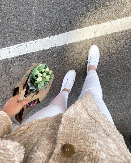 Fresh white sneakers for spring @liketoknow.it #liketkit http://liketk.it/3c1I5 #superga #shopbop