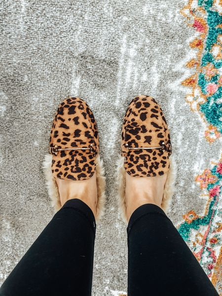 These leopard print mules from Target are only $25! So easy to slip on and go and look cute!!   #LTKgiftspo #LTKshoecrush #LTKunder50