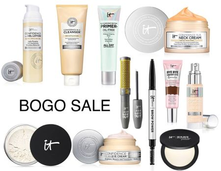 Itcosmetics is having a buy one get one free sale on their site right now! It only applies to these 11 products but I am soooo happy the bye bye under eye illumination is on there. I take shade 20.0!! Will be stocking up!   #LTKsalealert #LTKbeauty #LTKunder50