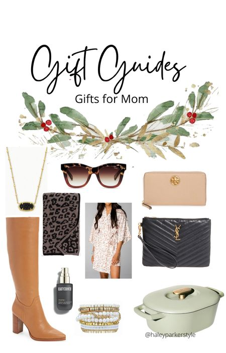 Gift guide Gifts for mom Women's boots Women's ysl bag Women's wallet Tory Burch Women's barefoot dreams blanket Women's jewelry  Women's Christmas present Gifts for wife Victoria Emerson bracelet   #LTKGiftGuide #LTKitbag #LTKshoecrush