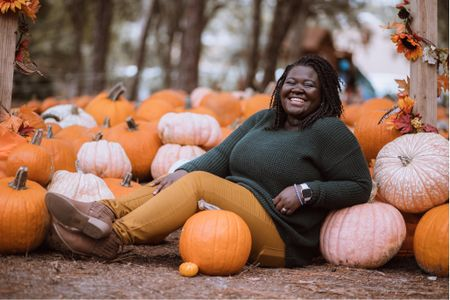 Gearing up for fall with all the cable knits and pumpkin fun! Are you ready for fall?   #LTKSeasonal #competition  #LTKstyletip #LTKunder50 #LTKcurves