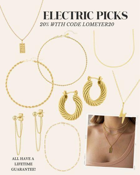 Electric Picks favorites! All on sale with my code LOMEYER20 🤍✨  #LTKunder100 #LTKsalealert #LTKGifts