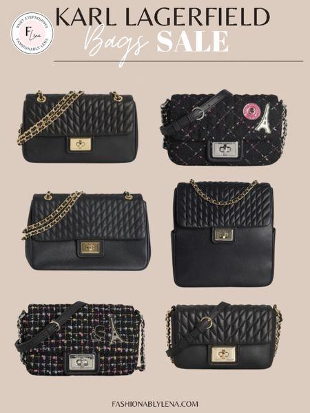 Chanel Bags, Karl LAGERFIELD bags, fall bags, designer bags   #LTKstyletip #LTKsalealert #LTKitbag