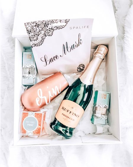 My blog is now LIVE with all my bridesmaid proposal box deets! I had so much fun putting these together. Can't wait to continue the rest of my planning with 7 incredible women by my side!• • • •Download the LIKEtoKNOW.it app to shop this pic via screenshot http://liketk.it/2Ad2m #liketkit @liketoknow.it #LTKbeauty #LTKwedding #LTKunder50