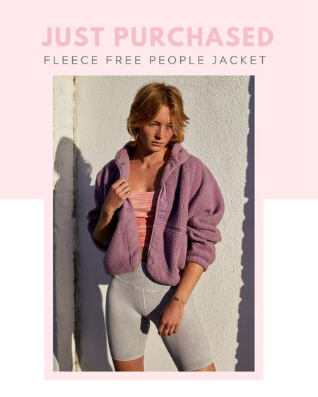 Just purchased: free people Hit The Slopes Fleece Jacket  http://liketk.it/3bd4r #liketkit @liketoknow.it fitness, casual outfit, outerwear, activewear, loungewear, spring / summer, fall / winter #StayHomeWithLTK  Follow my shop on the @shop.LTK app to shop this post and get my exclusive app-only content!  #liketkit #LTKfit #LTKstyletip @shop.ltk   #LTKstyletip #LTKfit #LTKSeasonal
