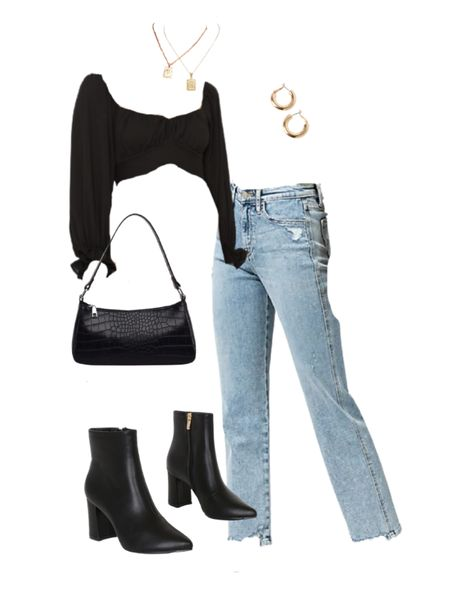 One of my favorite date night outfits with jeans for a night out! Check out this date night outfit with jeans (also a going out outfit or night out outfit) for a super trendy outfit and look! #shein #datenight #datenightoutfits #trendyoutfits #trendyoutfit #jeans #outfitwithjeans tk.it/ #liketkit @liketoknow.it #LTKunder50 #LTKunder100 #LTKSeasonal http://liketk.it/37xjc