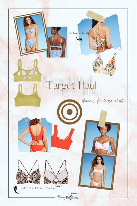Bikini tops for bigger chest sizes & /or breastfeeding mamas. *raises hands for both. ✋🏽  #LTKbump #LTKswim #LTKcurves